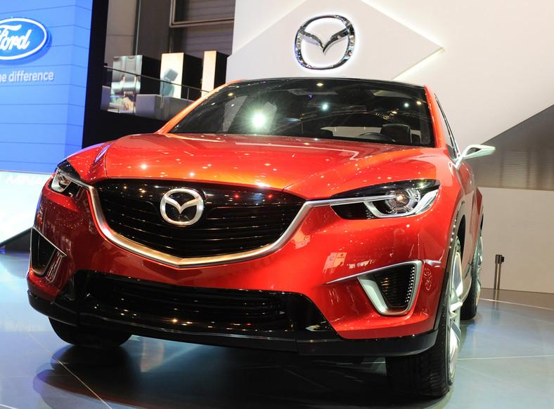 Mazda minagi z technologią SKYACTIV