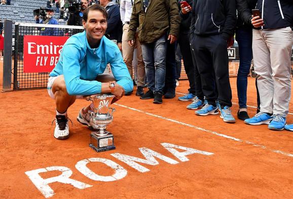 Rafael Nadal - novi šampion mastersa u Rimu
