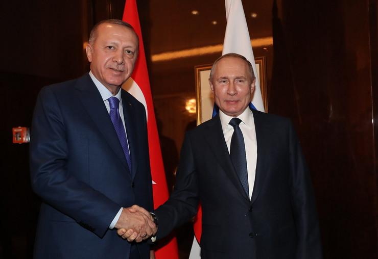 Vladimir Putin Redžep Tajip Erdogan