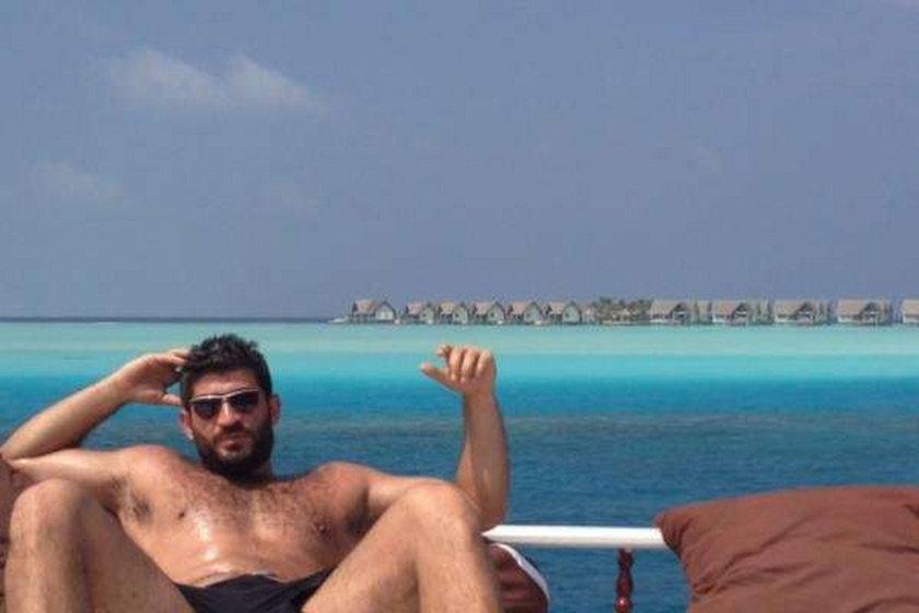 George Michael i jego chłopak Fedi Fawaz