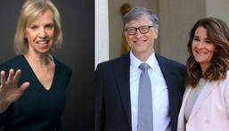 Bill Gates takes annual holiday to spend with 70-year-old ex-lover and Melinda agreed to it