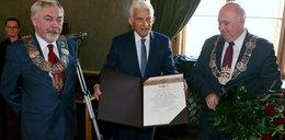 Jerzy Buzek odebrał zaszczytne odznaczenie w Krakowie