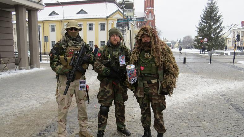 Wolontariusze na ulicach Białegostoku
