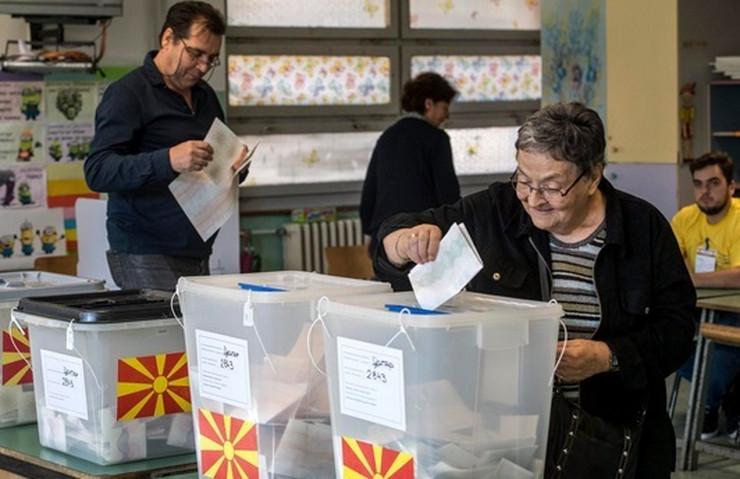 Makedonija glasanje EPA Georgi Licovski