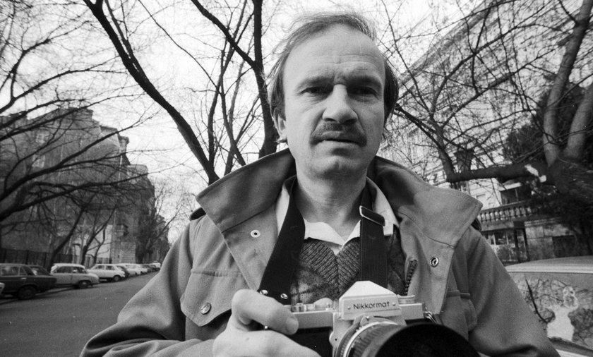 Andrzej Rybczyński nie żyje. Był fotoreporterem związanym z PAP