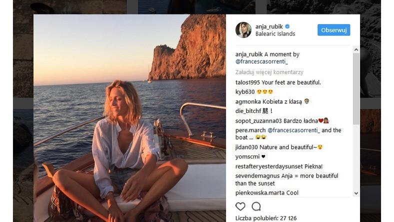 Modelka od kilku dni przebywa na Balearach – archipelag w zachodniej części Morza Śródziemnego, w pobliżu wschodniego wybrzeża Hiszpanii...