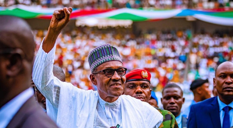 Buhari, 76, is the oldest candidate running for office