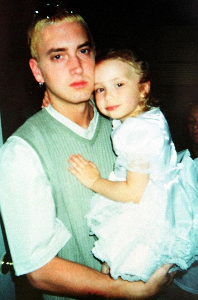 Eminem z córką