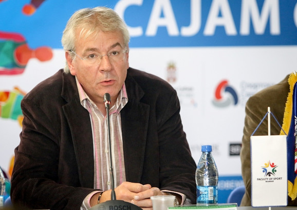 Aleksandar Šoštar na Sajmu sporta