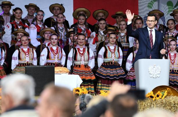 Mateusz Morawiecki na święcie Wdzięczni polskiej wsi