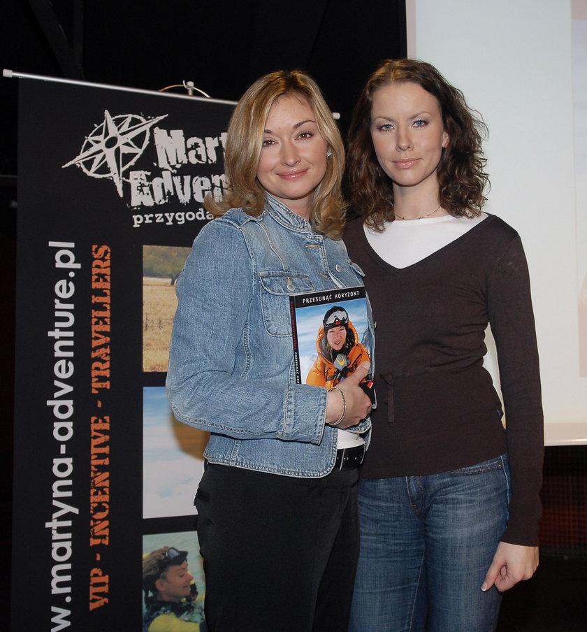 Martyna Wojciechowska i Anita Werner