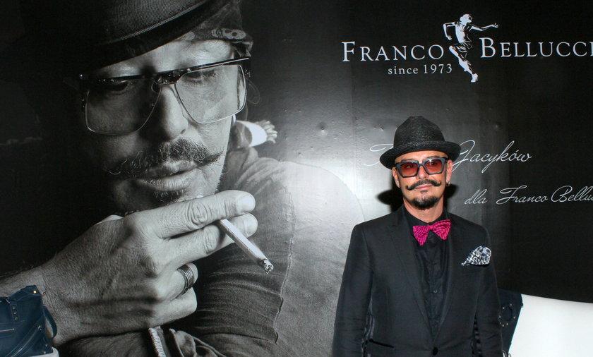 Prezentacja torebek Tomasz Jacyków dla Franco Belucci