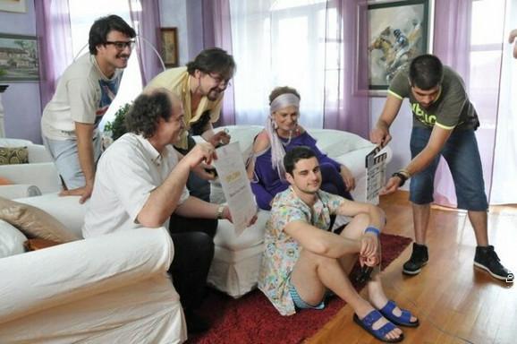 Glumci Nušićeve komedije na RTS-u