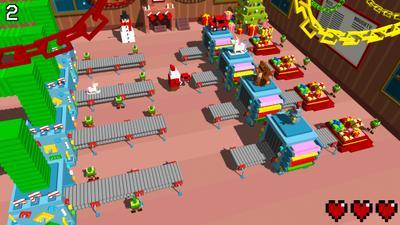 Santa's Toy Factory: weihnachtliches Spiel