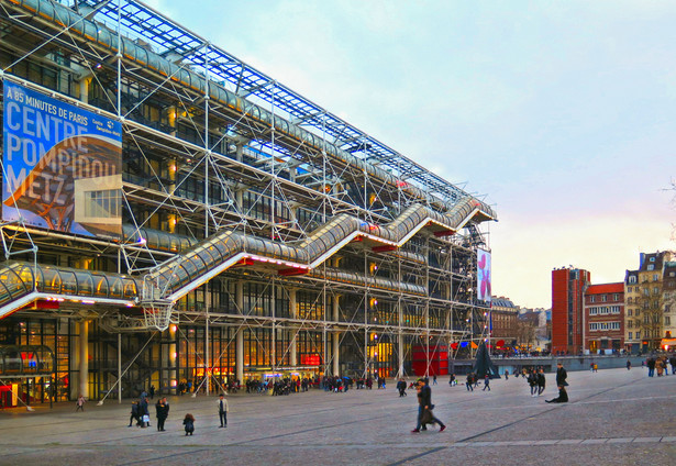 Centrum Georges Pompidou, Paryż