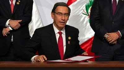 Facing impeachment, Peru's Vizcarra goes on the offensive