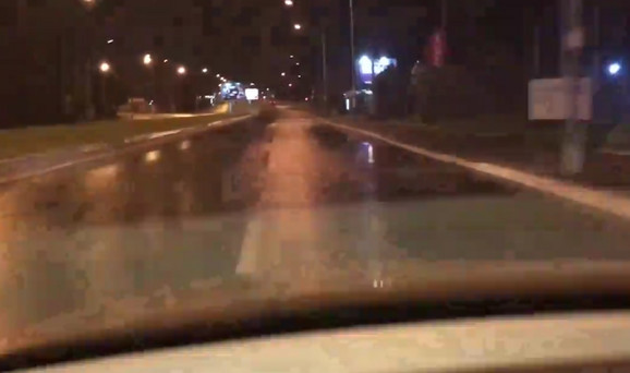 Prazna ulica mamac za bahate vozače