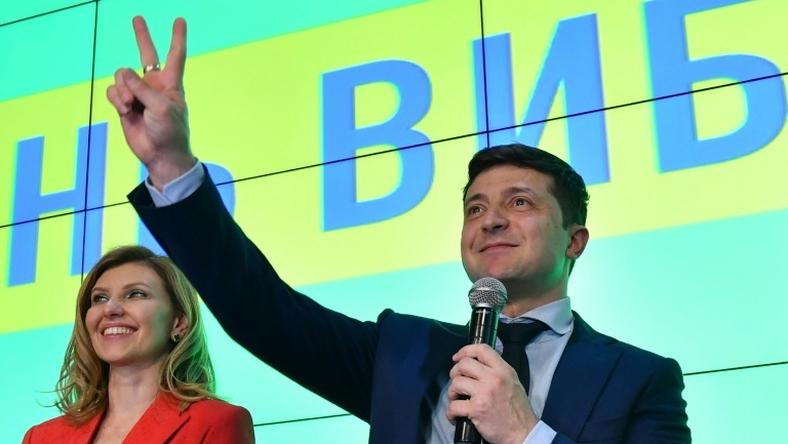 Polls indicate comic actor Volodymyr Zelensky will win Sunday's second-round vote