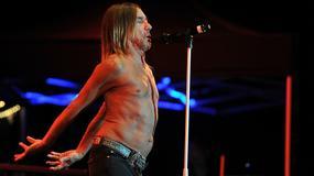 Iggy Pop na scenie z Metallicą