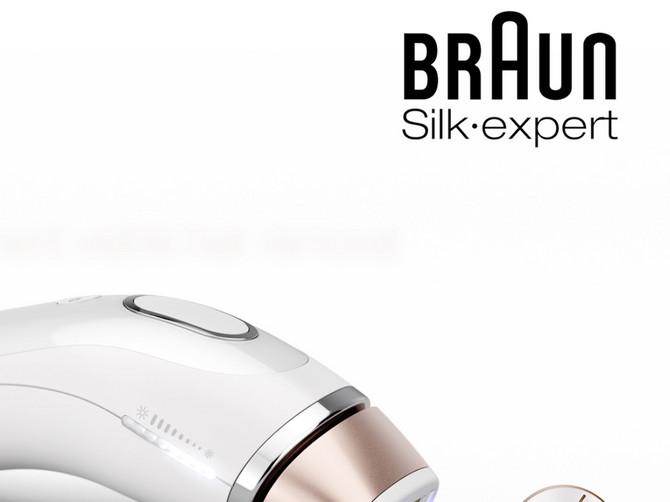 NOVI Braun Silk-expert IPL: Inteligencija u trajnom uklanjanju vidljivih dlačica