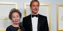 Odbierała Oscara z rąk Brada Pitta. Nie mogła się powstrzymać od flirtowania!