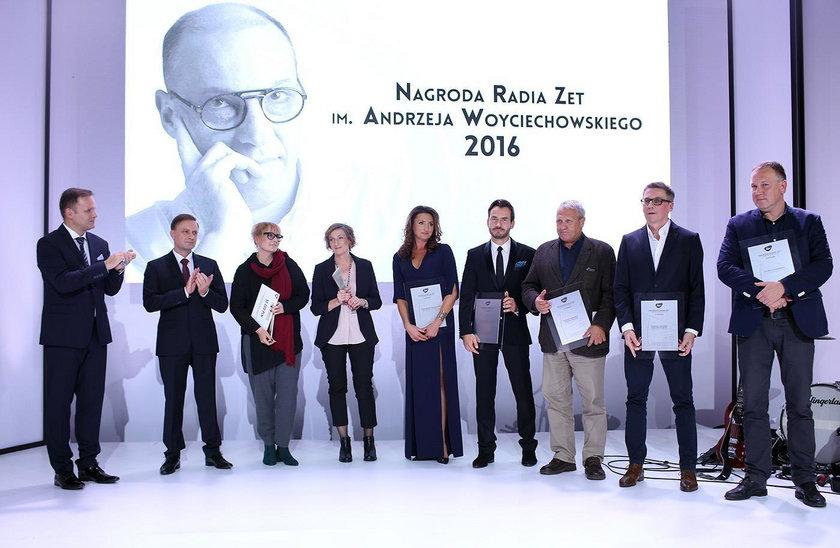 Laureaci nagrody Radia ZET im. Andrzeja Woyciechowskiego 2016