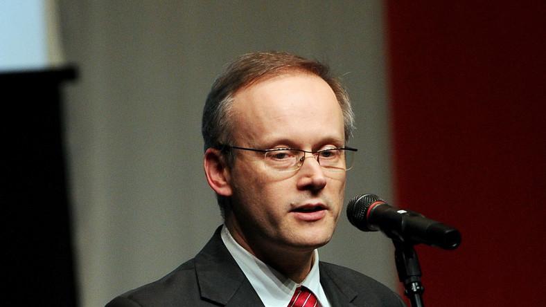 Szef IPN, dr Łukasz Kamiński