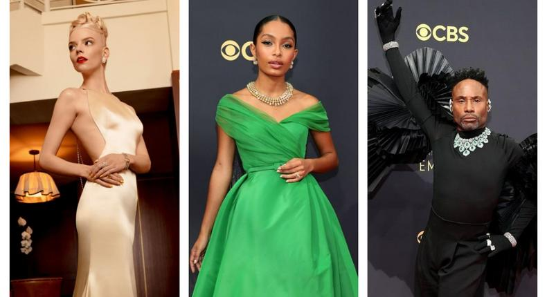 Best Dressed Hollywood Celebrities for The Emmys [instagram]