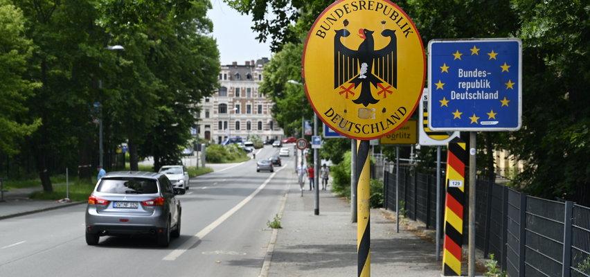 Neonaziści planują patrole na granicy z Polską. Niemcy chcą zwiększyć liczbę kontroli