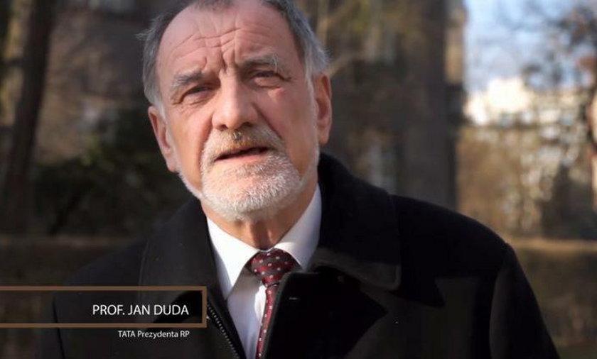 Ojciec Andrzeja Dudy w kampanii przeciwko homoseksualistom