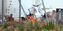 Samolot uderzył w market budowlany, są ofiary śmiertelne