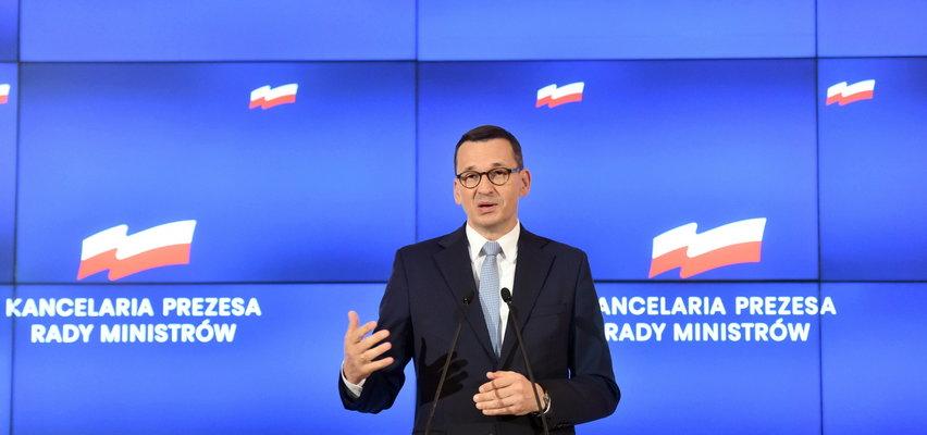 """Morawiecki o Lex TVN: """"To nie wolne media, to wolne żarty"""""""