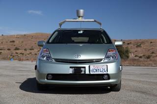 Bezzałogowe samochody Google już na drogach USA