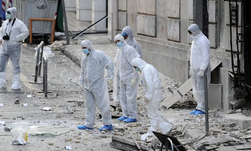 Do zamachu doszło do w okolicach biznesowego centrum Aten