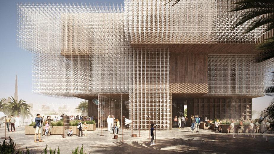 Pawilon Polski na Wystawę Światową Expo 2020 w Dubaju