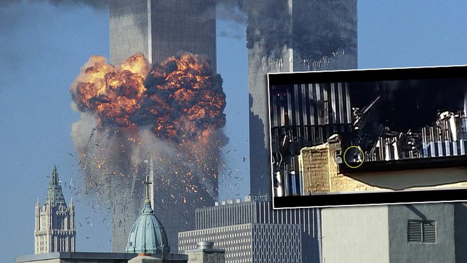Tajemnicze nagranie z 11 września do dziś zostało niewyjaśnione. Czy widzimy na nim Ednę Cintron wołającą o pomoc?