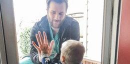 Nie mógł przytulić synka, bo pomagał chorym. Spotkało go coś strasznego