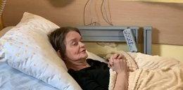 Pani Alicja leży w hospicjum. Miała jedno marzenie: znaleźć dom dla Fredzia