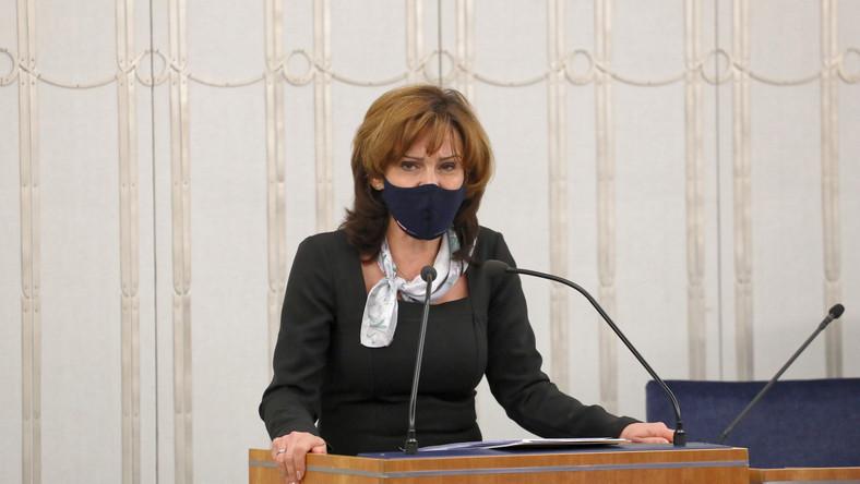 Wicemarszałek Senatu Gabriela Morawska-Stanecka