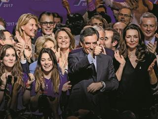 French Presidential Candidate Francois Fillon Holds Election Campaign Event