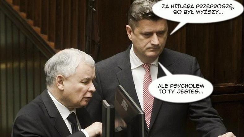 Jarosław Kaczyński wygrał z Januszem Palikotem proces o zniesławienie CZYTAJ WIĘCEJ>>> Prezes PiS wygrał proces. Palikot przeprosi go za Stalina, ale nie za wilka....