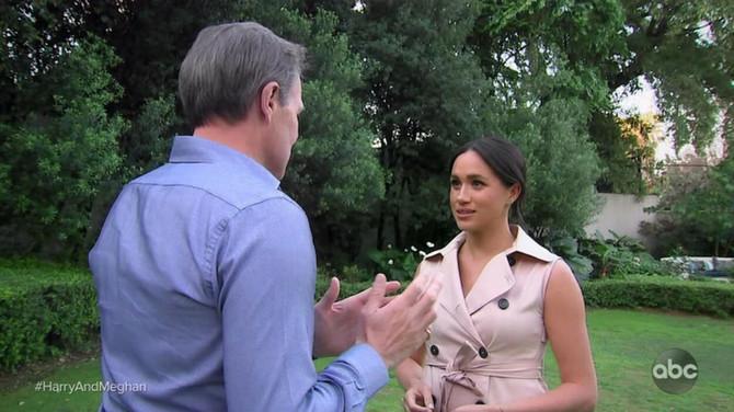 Megan u razgovoru sa Tomom Bredbijem