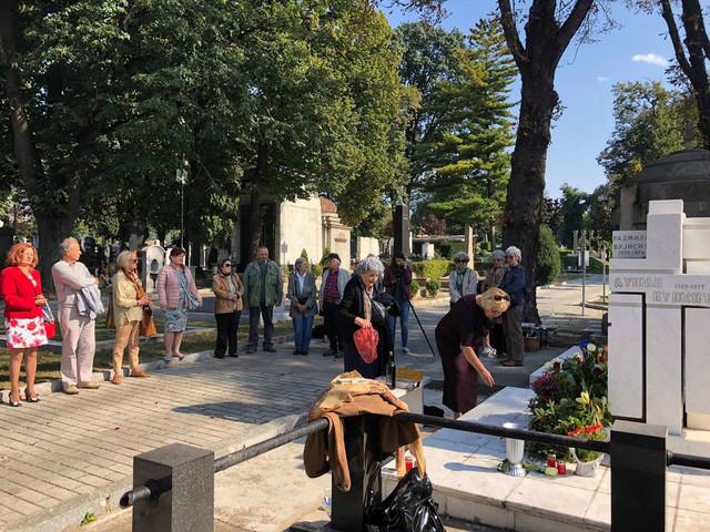 Grob Pavla Vuisića, obeležavanje 30 godina od smrti