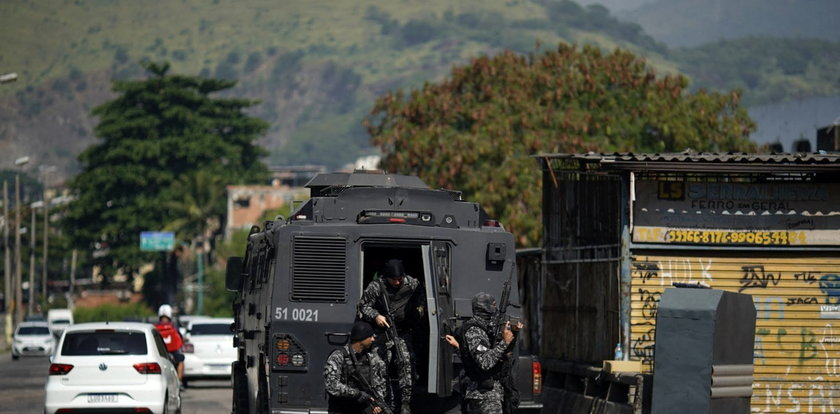 Strzelanina w Brazylii. Nie żyje 25 osób. Wśród nich jest policjant