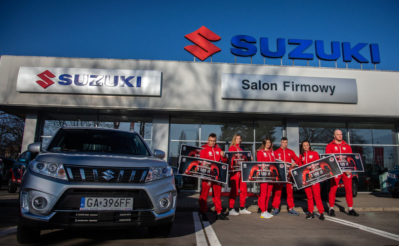 Suzuki Top Team jedzie po złoto w Tokio