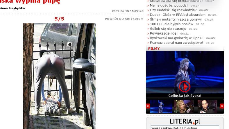 Pupa Przybylskiej na celowniku paparazzi