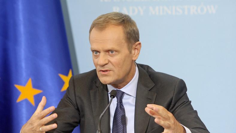 Tusk chwali Unię Europejską