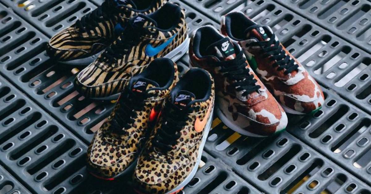 A hét sneakere Megjelent a Nike Air Max állati kollekciója