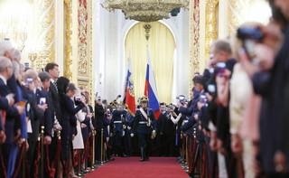 Putin zaprzysiężony na prezydenta, rozpoczął czwartą kadencję