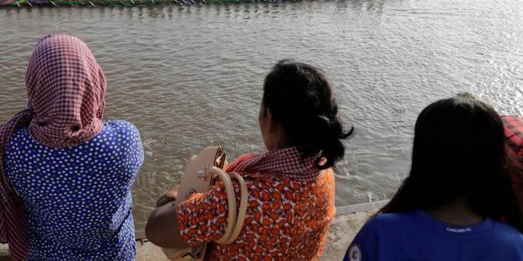Kambodža žene EPA